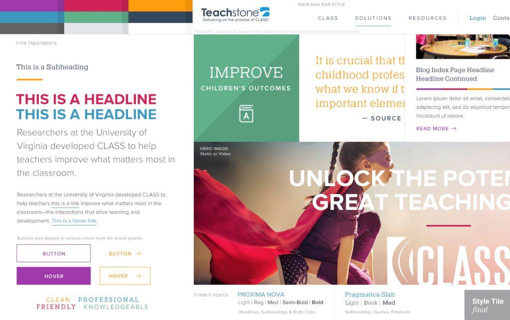 Improving the Web Design Process Through Style Tiles · Storyware
